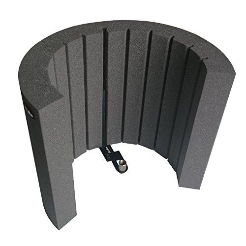 Pantallas acústicas de espuma micrófono de pantalla AFMS Pro, cabina de grabación portátil, filtro leska hamaty