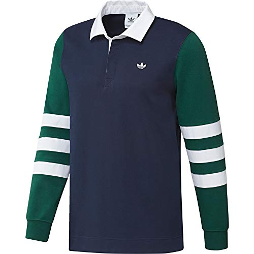 Polo Adidas Samstag 3-Stripes Rugby Shirt