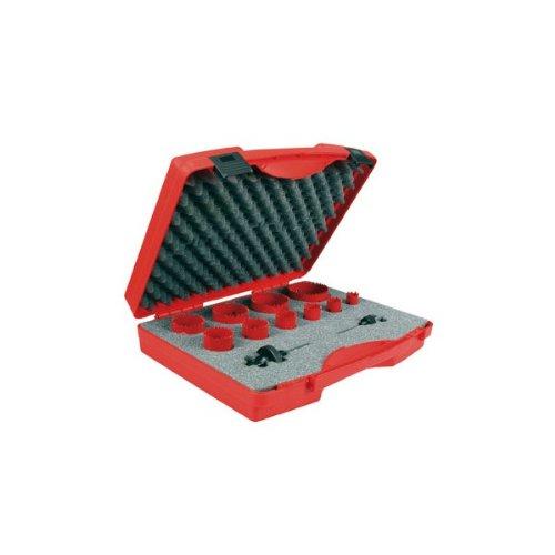 USAG 988 G S12 - Assortimento di 10 seghe a tazza bimetalliche 09880100