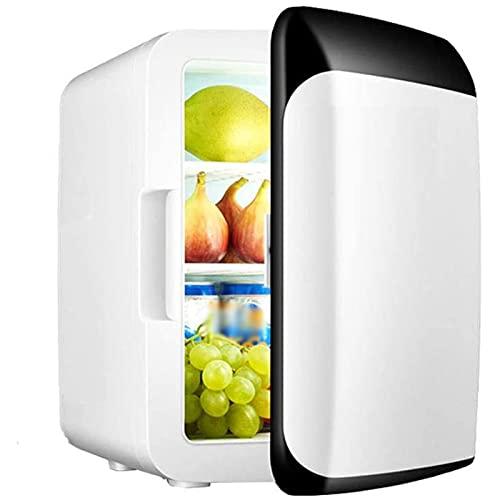 Zhgzhzwlf Mini Refrigerador Compacto Refrigerador/Calentador PortáTil Nevera PequeñA Y Silenciosa Nevera De Sobremesa Ideal para Habitaciones De Hotel PequeñOs Oficina Hotel