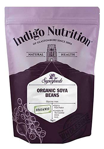 Indigo Herbs Habas de Soja orgánicas 1kg