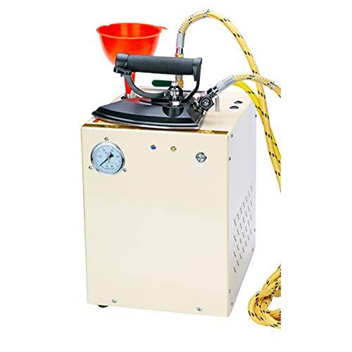 Newtry - Plancha de vapor eléctrica industrial profesional con caldera de hierro grande automática, tanque de acero inoxidable para...