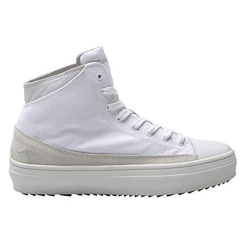 KangaRoos - Zapatillas Deportivas Estilo botín Modelo K-Mid Plateau 5072 para Mujer (39 EU) (Blanco)