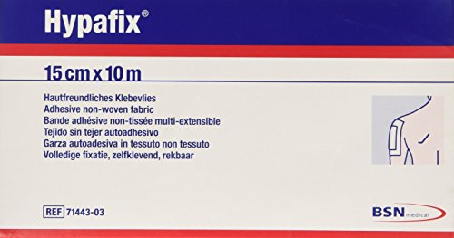 BSN Hypafix Wide-area Dressing Fixation, Roll of Tape, 15cm x 10m