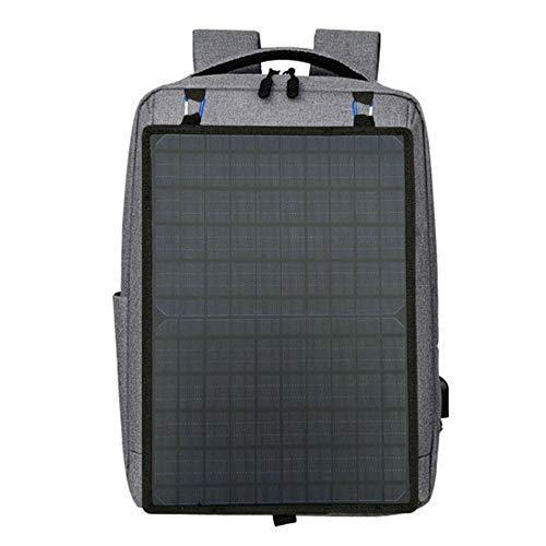 LFF Laptop-Rucksack Effizientes Solar-USB-Laden und wasserdichter Reiserucksack mit großer Kapazität