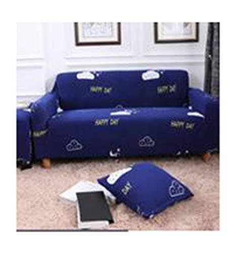 DaiHan Universeller Sofabezug aus bedrucktem Stretch-Stoff All-Inclusive-Sofakissen Vollbezug Sofatuch Sofabezug für Vier Jahreszeiten AsPic19 1Seat(90-140cm)