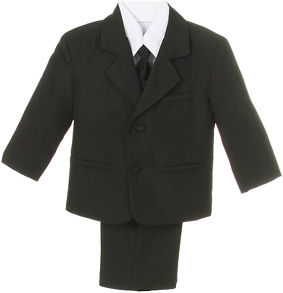 Baby Boys Black Suit with Tie blk size xl