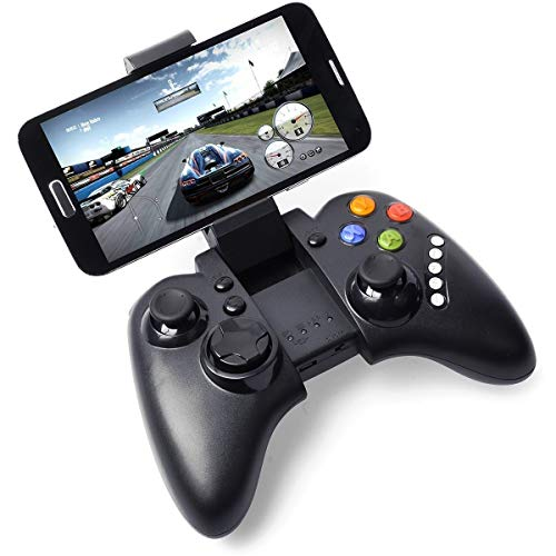 QCHEA Dispositivo Multimedia inalámbrico Bluetooth Controlador de Juegos Joystick for Android Pad Smartphone Huawei HTC LG Sony Samsung Galaxy Android Tablet PC
