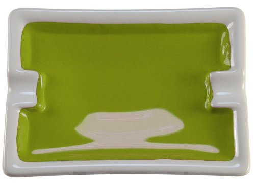 Blockx Golden Green Giant Pan Watercolor in Real Ceramic Refillable Pan
