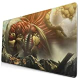 Ye Hua Extra Large Mouse Pad -Attack Ontitan B Desk Mousepad - 15.8x29.5in (3mm Thick)- XL Protective Keyboard Desk Mouse Mat for Computer/Laptop
