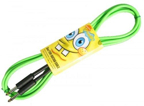 GYC SBC03 - Cable para guitarra jack (6.3 mm, macho, 3 m), color verde