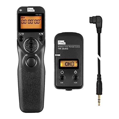 Pixel FSK 2.4GHz LCD Disparador Inalámbrico Temporizador Mandos a Distancia TW283-S1 para...