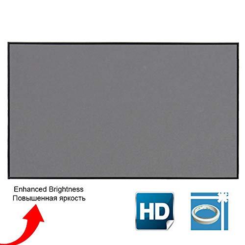 Projectorscherm, 100 110 inch schermprojectie 4: 3 draagbare reflecterende stoffen doek, voor XGIMI H3 H2 YG400 voor Xiaomi Beamer