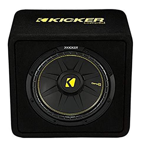 Kicker 44VCWC122 - Caja de subwoofer con ventilación, 600 W, 2 ohmios, 12 pulgadas