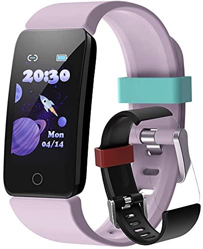 Ace RepubliK Kids activity tracker watch (With 1 Free Strap) Kids Fitness Tracker Watch Girls Boys, Kids Smart Watch, Water Resistant, Follow your kids Health Fitness Activity, Smart Watch For Kids