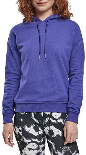 Urban Classics Damen Ladies Hoody Kapuzenpullover, bluepurple, XL