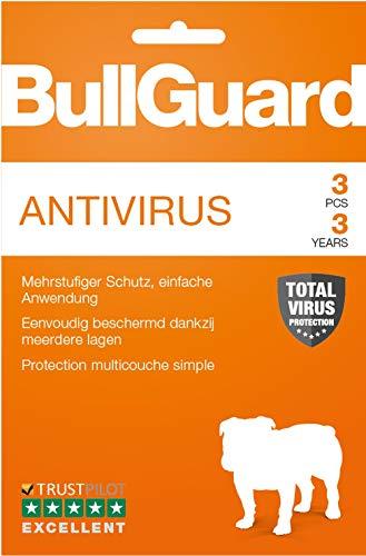 BullGuard Antivirus - Abonnement 3 an / 3 appareils [Code Jeu ]
