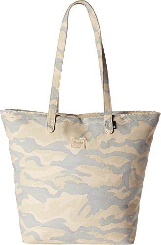 Herschel Mica Tote Damen Tasche Frauen Schultertasche Shopper Henkeltasche Canvas beige Camouflage Cammo