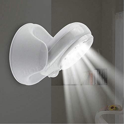 Draadloze Infrarood Bewegingsgeactiveerde Sensorlamp Lamp 360 Graden Rotatie Beweging Wandlampen Toilet Nachtlampje Buitenverlichting