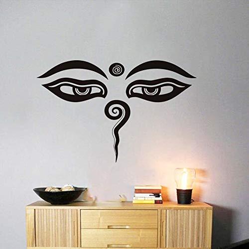 hetingyue Swirl Overview Heart Headboard Wall Sticker Home Art Deco Decal Black Hollow Bedroom Mural 118x75cm