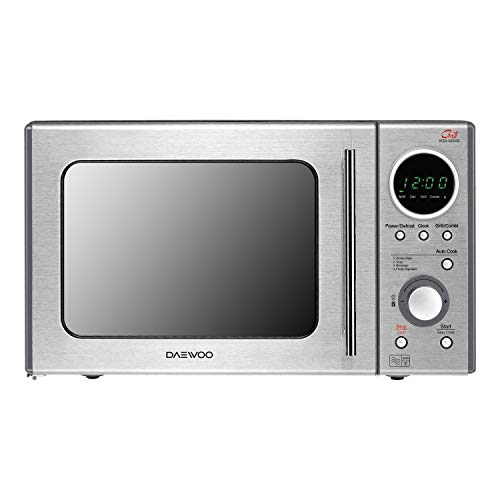 Daewoo KOG3000SLR Microwave Oven with Grill, 5 Power Control Levels, 4 Auto Cook Programmes, Touch and Dial Control…