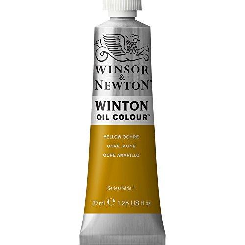 Winsor & Newton Winton Oil Color Paint, 37-ml Tube, Yellow Ochre