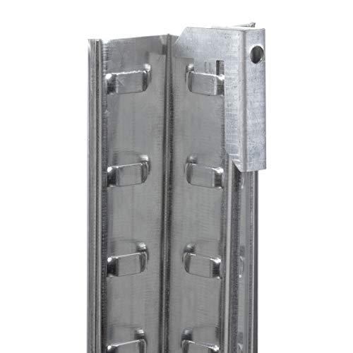 Doppelregal Steckregal Schwerlastregal Kellerregal 160 x 160 x 40cm - 5