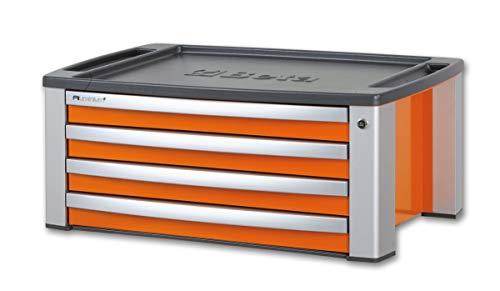 Beta C39T-O CassettieraPortatile per Attrezzi con4Cassetti - Arancione