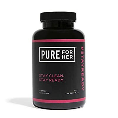 Pure for Her - Fibre and Weight Management Supplement (160 Capsules)