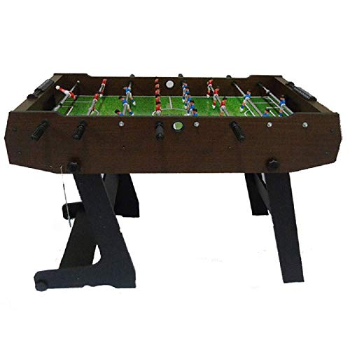 CJVJKN Folding Table Football, Indoor/Outdoor Eight-Football Game Table, Adult Child Parent-Child Toy Size 121 61 85 cm