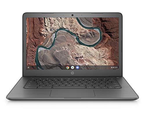 HP Chromebook 14-db0002ng (14 Zoll / Full HD) Laptop (AMD A4-9120 APU, 4GB DDR4 RAM, 64GB eMMC, AMD Radeon R2, Chrome OS) chalkboard grey