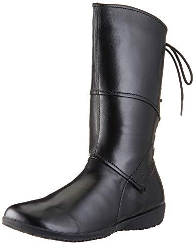 Josef Seibel Damen Winterstiefel Naly 07, Frauen Stiefel,Winter-Boots,Schnürstiefel,gefüttert,warm,schwarz,39 EU / 5.5 UK
