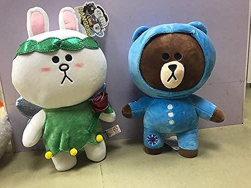 DONGER Niedliche Dekorative Puppe B Hase Puppe Puppe Spielzeug HochzeitSpaßr, 29Cm Engel, 20cm   - 29 cm