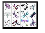 Abeja Mariposa Aves Tatuajes Temporales Bee Butterfly Birds Temporary Tattoos (Libélula Tatuajes Dragonfly Tattoos)