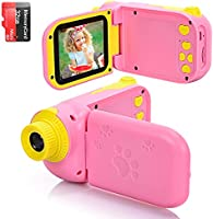 vatenick Kids Camera Children Digital Cameras Kids Gift Video Recorder Shockproof 2 inch HD Screen 1080P 32GB TF Card...