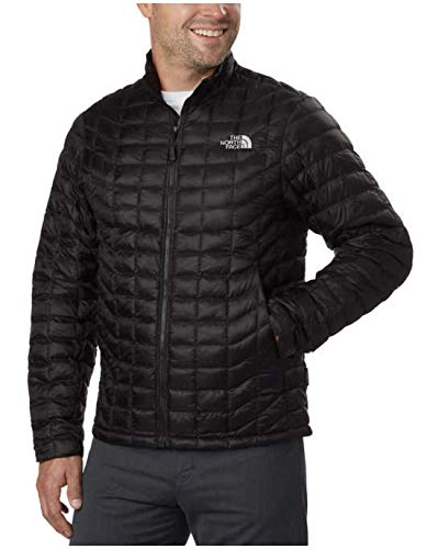 The North Face Men's Thermoball Full Zip Jacket TNF Black 2 Outerwear LG