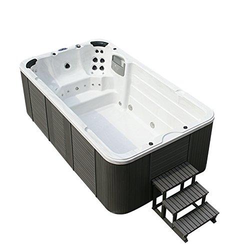 Swim Spa 400x230cm ! Außenwhirlpool 8 Personen Schwimmbad