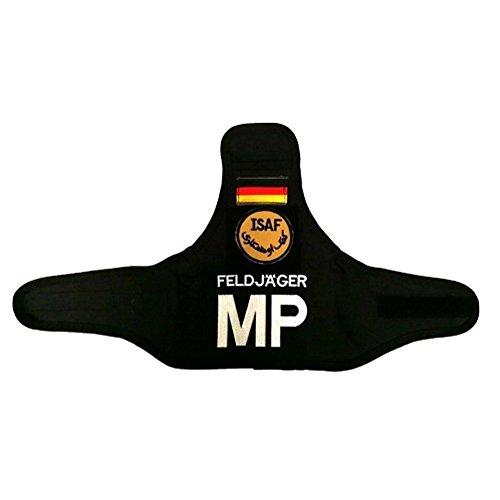 Bundeswehr Armbinde Feldjäger MP coyote - schwarz ISAF