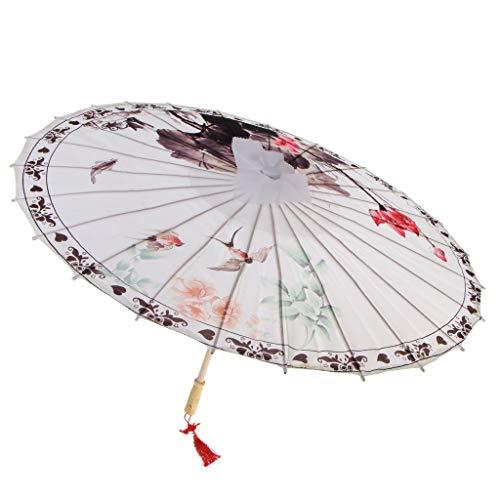 LOVIVER Chinese Olie Papier Paraplu Decor Klassieke Dansende Rekwisieten - 6