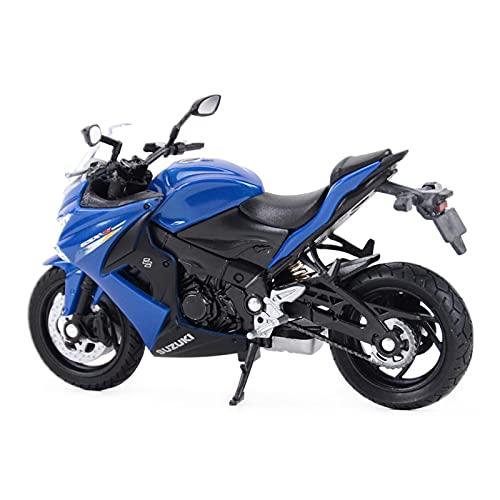 Boutique 1:18 Mini para 2007 GSX-S1000F Simulación Aleación Fundición A Presión Colección Vehículos Modelo Motocicleta Niño Regalo Coche Jugue