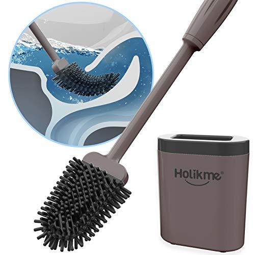 Holikme Toilet Brush and Holder Set for...