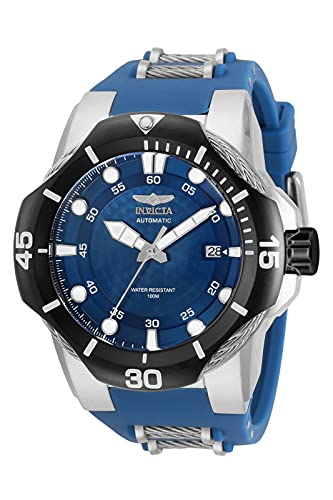 Invicta Men's 31181 Bolt Automatic 3 Hand Blue Dial Watch