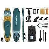 Retrospec Unisex's Weekender Plus 10' Paddleboard, Aruba Wave, 10...