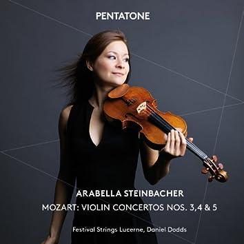 Mozart: Violin Concertos Nos. 3, 4 & 5