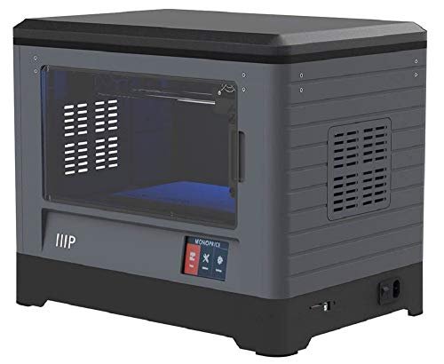 Monoprice MP Fully Enclosed Dual Extruder 3D Printer, Easy Wi-Fi, Touchscreen, Camera (Inventor I)