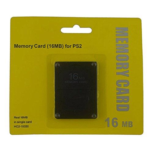 Tarjeta de Memoria de 16MB para Playstation 2- Flash Memory para Consola