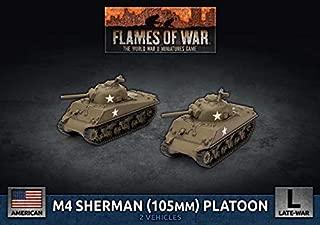 Flames of War: Late War: United States: M4 Sherman (105mm) Assault Gun Platoon (UBX71)