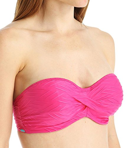 Cleo by Panache Matilda Bandeau Swim Top (CW0233) 36FF/Pink