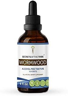 Wormwood Alcohol-Free Liquid Extract, Organic Wormwood (Artemisia Absinthium) Dried Herb (4 FL OZ)
