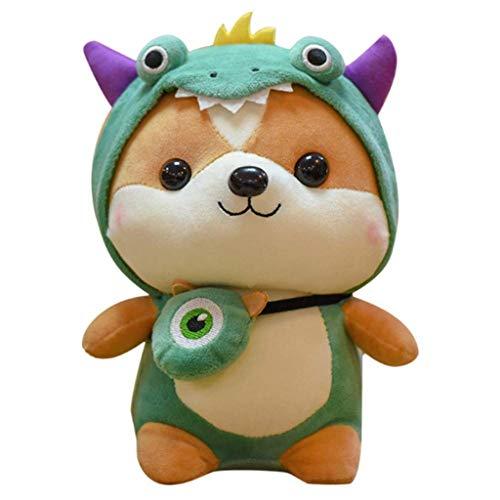 PDGJG Plush Toys Gathering Squirrel Light Children's Plush Beanbag Stuffed Animal Toy